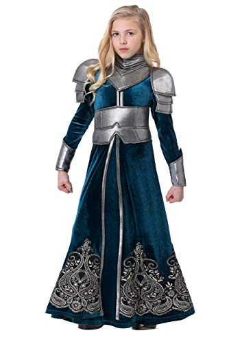 Girl's Medieval Warrior Costume Medium -