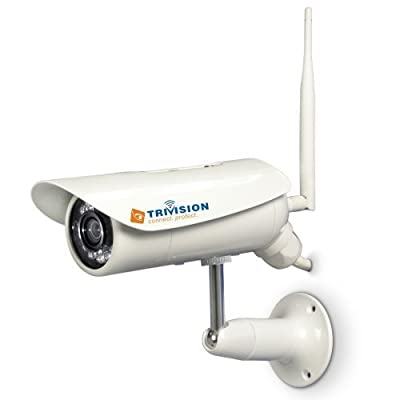 TriVision NC-326PW 720P WiFi POE Wired Waterproof Security Camera System