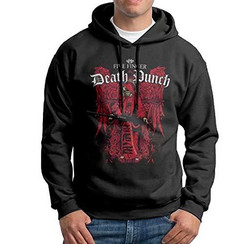 Man's Five Finger Death Punch Logo Long Sleeve Young Custom Drawstring Boys Sweatshirt Small
