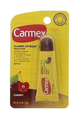 Carmex Lip Balm Tube Cherry 10Gm-Pack Of 3