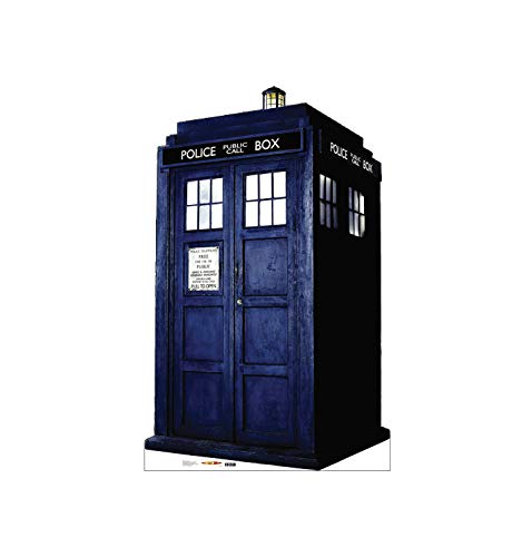 Advanced Graphics TARDIS Life Size Cardboard Cutout Standup  BBC#039s Doctor Who