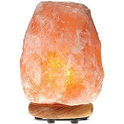 Himalayan Glow 1001 Salt Lamp, ETL Certified himalayan pink salt lamp, Home Décor Table lamps | 5-8 lbs by WBM