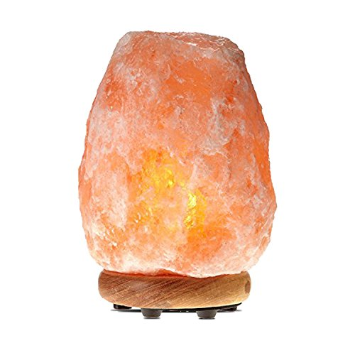 Himalayan Glow 1001, ETL Certified Himalayan Pink Salt, Home Décor Table Lamps | 5-8 lbs by WBM, Medium