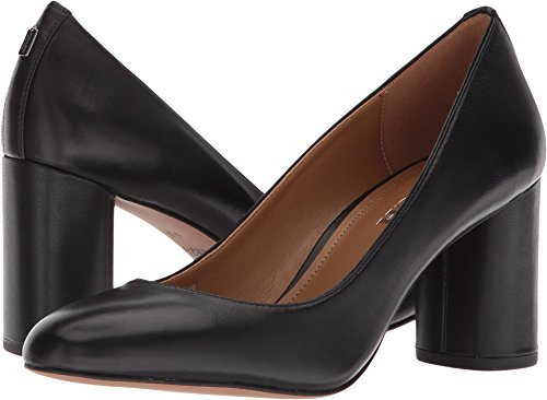 Coach Women's Georgina Pump Black Leather 8 M US