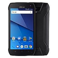 BLU T0010UU BLACK TANK XTREME PRO -Water proof smartphone, 4G LTE -Black
