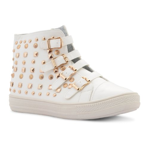 Footwear Sensation - Zapatillas de sintético para mujer blanco - blanco