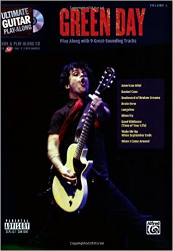 Amazoncom Ultimate Guitar Play Along Green Day Play Along With 9