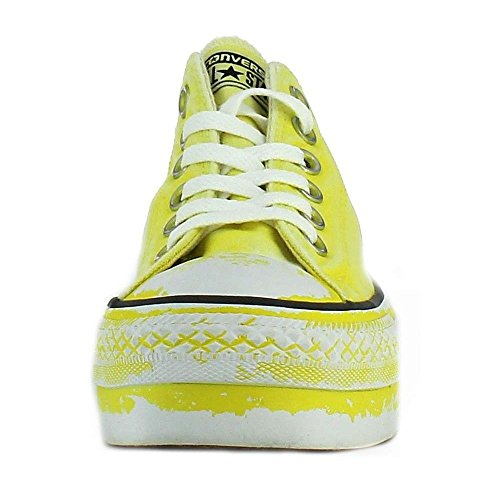 Converse All Star Ox Platform Limited Edition Scarpe Sportive Donna Gialle