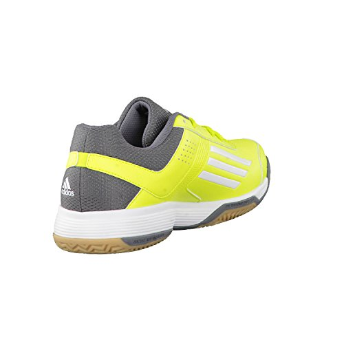 adidas, Scarpe indoor multisport uomo Giallo semi solar yellow/ftwr white/vista grey s15 40 2/3