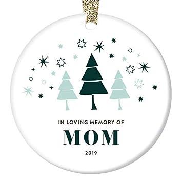 Christmas Ideas For Mom 2019.Amazon Com Wini2342ckey Loss Of Mother Ornament Christmas