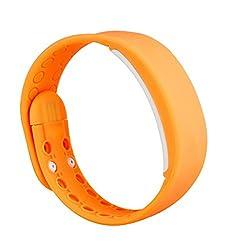 Surmos Usb Smartband W2 Bracelet Time Display Smart Wrist Band Watch With Calorie 3d Pedometer Sleep Monitor Waterproof Wristband(orange)