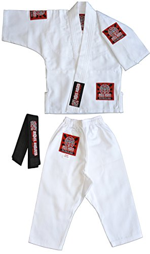 (ROLL HARD Brand - Toddler Baby Jiu Jitsu Gi (Slim Fit))