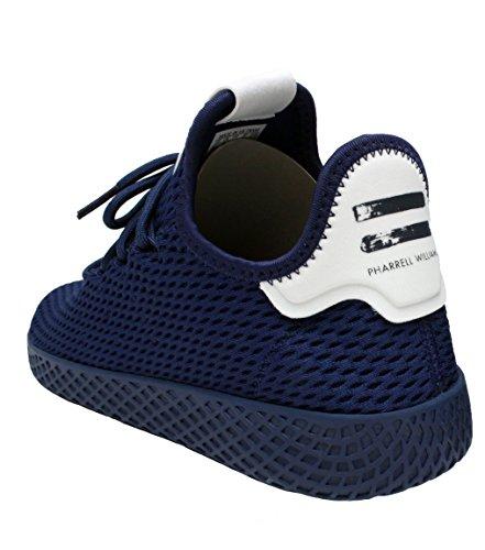 Adidas Pw Tennis Hu In Donker Blauw / Wit Van, 4,5