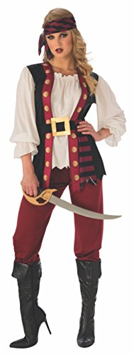 Rubie's Women's Standard Lusty Pirate Costume, as as Shown, Medium]()