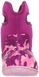 Bogs Toddler Classic Camo Winter Snow Boot, Pink Camo, 9 M US Toddler