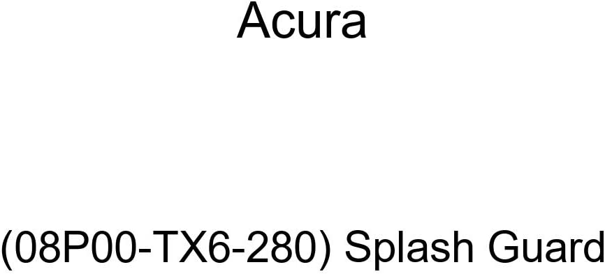 Acura Genuine Splash Guard 08P00-TL2-2C0