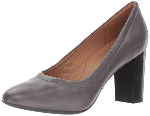 Clarks , Damen Sneaker Dark Grey Leather