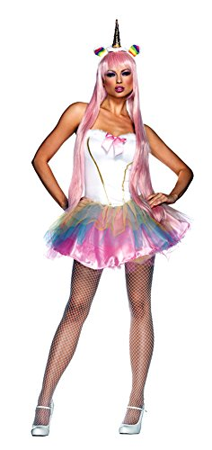 Womens Unicorn Fantasy Costumes (Fantasy Unicorn Costume - Medium/Large - Dress Size 8-12)