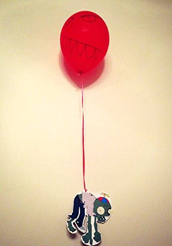 [PVZ Birthday Party Supplies (Balloon Decorations)] (Zombie Decoration)