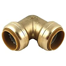 SharkBite U260LFA 1-Inch 90-Degree Elbow, Plumbing Fittings for Residential and Commercial Water Applications, Lead-Free