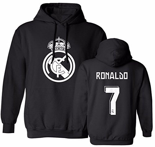 Smart Zone FC Real Madrid Hoodie Cristiano Ronaldo Men's Sweatshirt