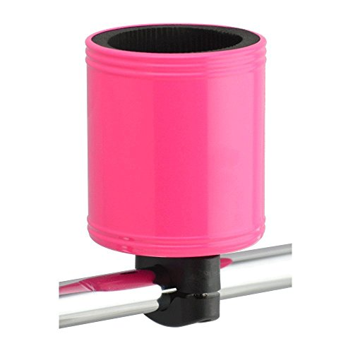 Kroozie Kroozercups Bicycle Cup Holder 2.0 in Hot Pink (Bottle Holder Hot Pink Water Bike)