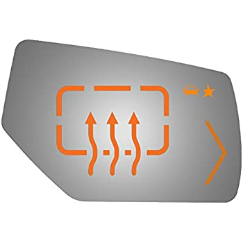 Fits 09-14 Escalade Suburban Avalanche Driver Mirror Glass w// Signal  Blind Spot