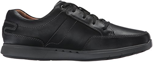 Clarks Mens Unlomac Lace Oxford Black