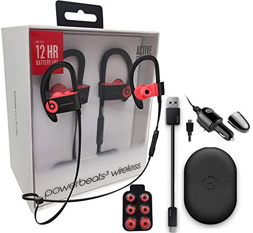 Beats by Dr. Powerbeats3 Wireless Earphones & Car/Wall Charg
