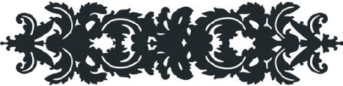 We R Memory Keepers 12-Inch by 2-Inch Border Die, Damask