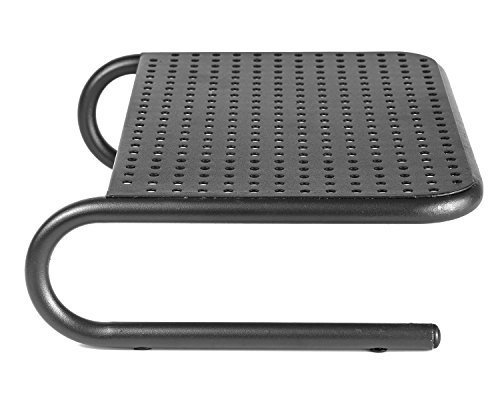 2 Pack - Black Halter LZ-309 Vented Metal Monitor Stand//Monitor Riser