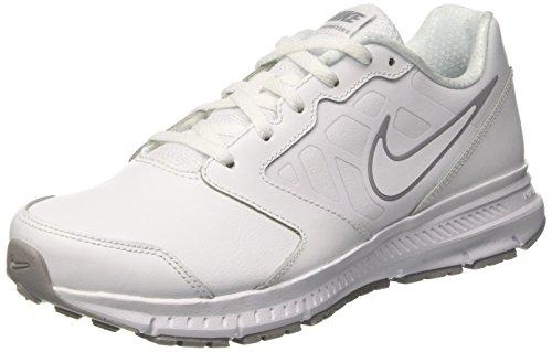 Nike Downshifter 6 Ltr Gs, Zapatillas de Running Unisex Niños Blanco (White/white-wolf Grey)