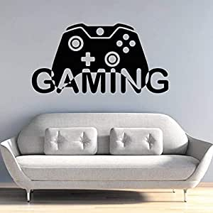 zqyjhkou Video Game Gaming Gamepad Design Wall Sticker Home ...