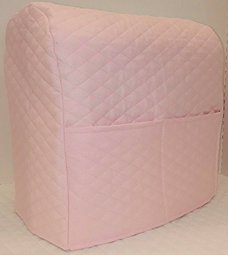 Penny's Needful Things Quilted Cover Compatible with Kitchenaid Stand Mixer (Pink, 3.5 qt Artisan Mini Tilt Head)