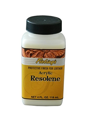 Fiebing's Acrylic Resolene, 4 Oz. - Protects Leather ()