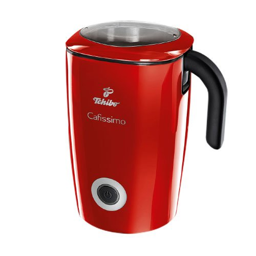 Tchibo Cafissimo de inducción espumador de leche, 500 ml en color rojo: Amazon.es: Hogar