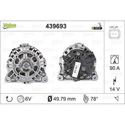 Amazon.com: CITROEN C4 C3 C2 PEUGEOT 1007 206 207 307 Alternator VALEO 1.1- 1.6L 1998-: Automotive