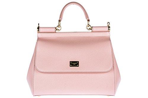 Dolce&Gabbana women's leather handbag shopping bag purse sicily - And Dolce Bag Shopping Gabbana