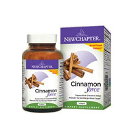 Cinnamon Force, 30 Veg Caps by New Chapter (Pack of 2)