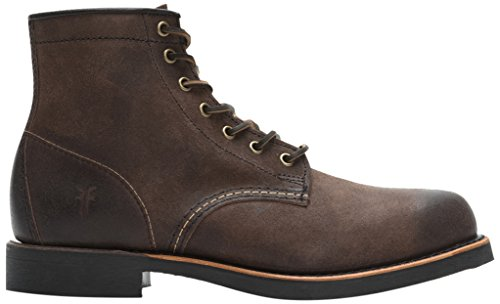 Frye Mens Arkansas Mid Lace 8.5m Us Brown