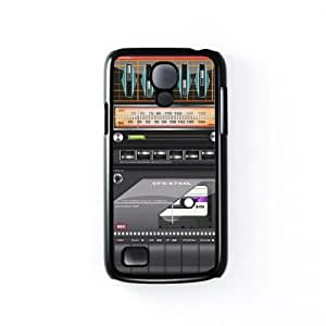Cassette Player Black Hard Plastic Case Snap-On Protective Back Cover for Samsung? Galaxy S4 Mini by Nick Greenaway + FREE Crystal Clear Screen Protector