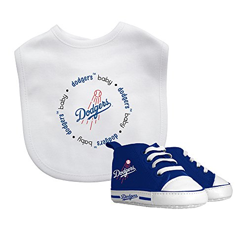 Baby Fanatic Bib & Prewalker Gift Set- Los Angeles Dodgers