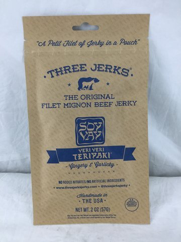 Three Jerks Jerky Soy Veri Veri Terikayi (Jerky Soy Peppered)
