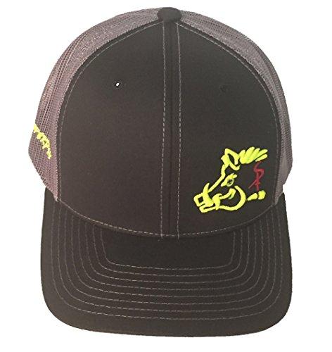 Oil Field Hats Gray//Black//Orange Sniper Pig SPH813