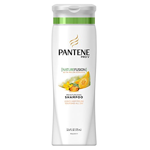 Pantene Pro-V Nature Fusion Moisturizing Shampoo with Melon Essence 12.6 fl oz, Packaging May Vary