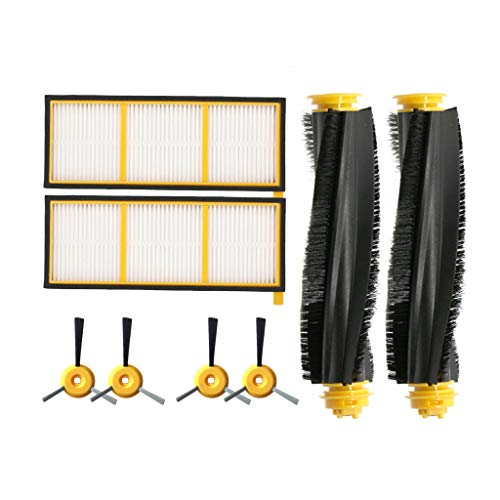 ROLYPOBI Vacuum Cleaner Accessories Replacement kit for Shark ION Robot RV700 RV750 and Sweeping Robo