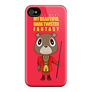 AlissaDubois Iphone 4/4s Scratch Protection Phone Covers Support Personal Customs Colorful Kanye West Album Pictures [Iyy16148PSYn]