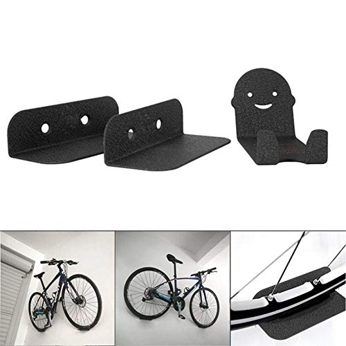 1X Steel Wall Mount Bike Hanging Rack Bicycle Display Hook Garage Storage Hanger
