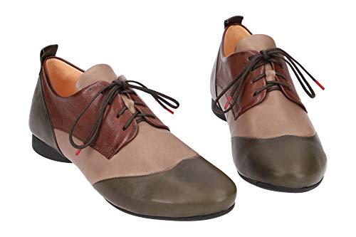 63 3 et Classique à Chaussures Think Coupe Lacets Vert 83272 Femme TwxSHdY
