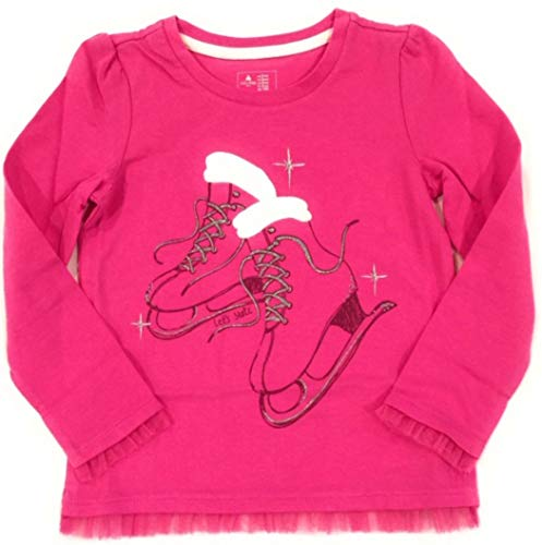 - GAP Let's Skate Long Sleeves Happy Pink Graphic Tee 3YRS